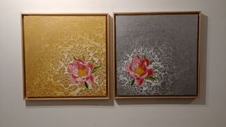"""""""Taste for the arts; blossom into life """" Jang Chigil_Solo Exhibition, installation view"""