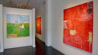 """Gary Komarin """"The Dance Card"""", installation view"""
