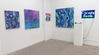 Mary J. Saran: Escape Earth, installation view