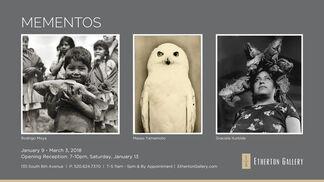 Mementos: Rodrigo Moya, Masao Yamamoto and Graciela Iturbide, installation view