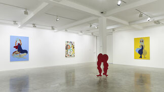 Tschabalala Self, installation view