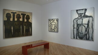 Lester Johnson Classical Themes, installation view