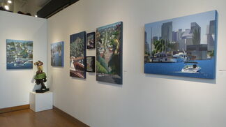 Seattle Re-Cline, installation view