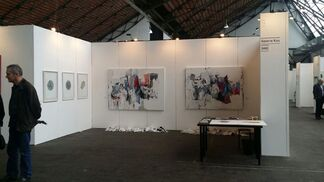 Galerie Koo at OFF COURSE Brussels Contemporary Art Fair 2015, installation view