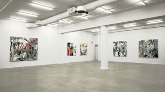 G L A S S L A N D S, installation view
