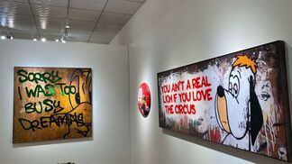 Van Ray Solo Show, installation view