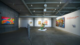 Relax in Electric Chair: Peter Saul at di Rosa, installation view