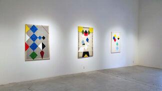 Matthew Carter:  hellequinharlequinclown, installation view