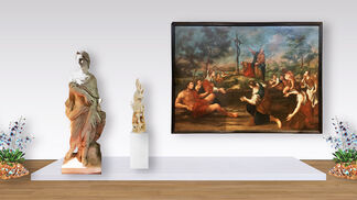 Synergy between Ancient and Modern Art, installation view
