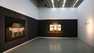 Dimension and trajectory, installation view