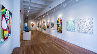 """Group Show: """"Out with the Old"""", installation view"""