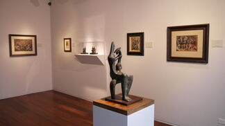 Highlights from 'Henry Moore: Sculpture and Drawings ', installation view