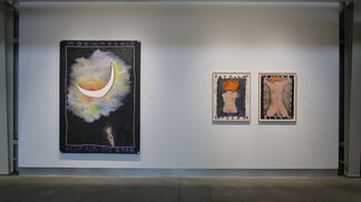 Squeak Carnwath: The Unmediated Self, installation view