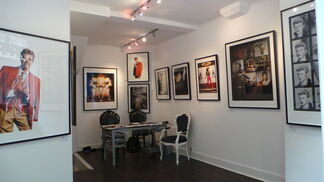 """Tony McGee - David Bowie """"Unseen"""", installation view"""