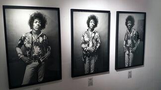 Jimi Hendrix by Donald Silverstein, installation view
