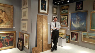 Robert Funk Fine Art at Palm Beach Jewelry, Art & Antique Show 2017, installation view