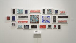 Deep Line Drawings by Carlos Luna, installation view