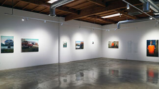 Inigo Sesma. Unpaved Paradise, installation view