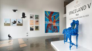SPACELAND V | War, installation view