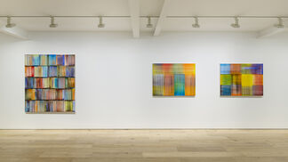 """Bernard FRIZE """"Tongue and Groove"""", installation view"""