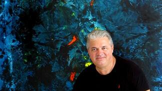 Attila Konnyu: Large Abstracts, installation view