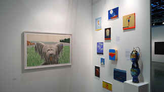 Richard Levy Gallery at Seattle Art Fair 2016, installation view