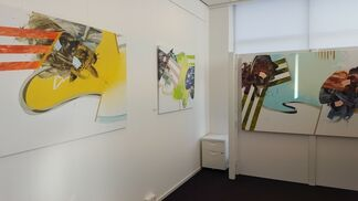The Color of Jazz, works by Carlos Puyol, installation view