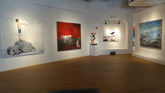 """Brian Keith Stephens """"The Fox and the Pineapple"""" Solo Exhibition, installation view"""