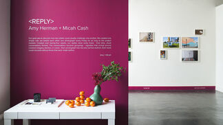 <REPLY> Amy Herman + Micah Cash, installation view
