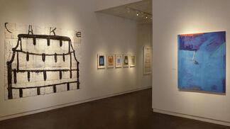 "Gary Komarin ""The First Green Rushing"", installation view"