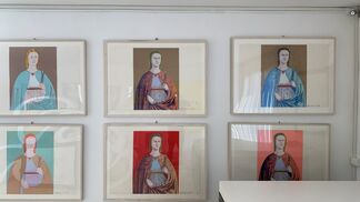 Andy Warhol, Saint Apollonia uniques, installation view