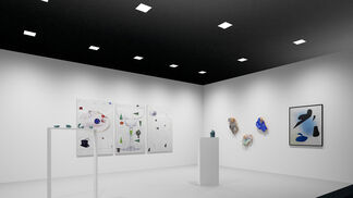 Neumeister Bar-Am at Art Los Angeles Contemporary 2016, installation view