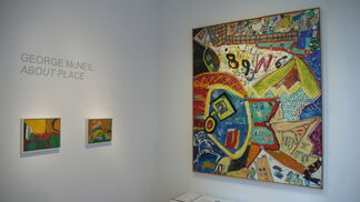 George McNeil: About Place, installation view