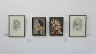 Drifting into Post Surrealism MMXX, installation view
