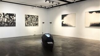 Journeys into the Future through the Sea of the Past by Nasr-eddine Bennacer, installation view