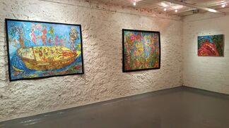 OUTSIDER ART  Ody Saban / Geneviève Seillé / Sabine Darrigan, installation view
