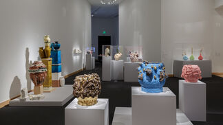 Regarding George Ohr: Contemporary Ceramics in the Spirit of the Mad Potter, installation view