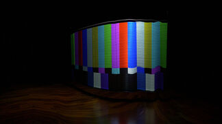 Depth of Screen - Solo Exhibition by Kuo Hsin-Hui, installation view