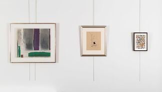 Collages, installation view