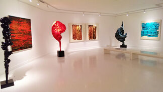Abstract Reflections, installation view