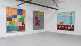 Joan Brown - Presence Known, installation view