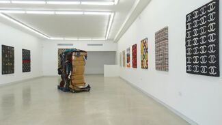 Staples Paintings, installation view