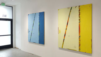 Jacob Melchi: six paintings: sentence, installation view