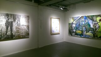 Dawn and Then, installation view