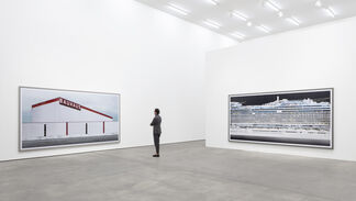 Andreas Gursky, installation view