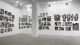 William Kentridge: Drawings for Lulu, installation view