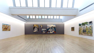Qin Qi Solo Exhibition, installation view