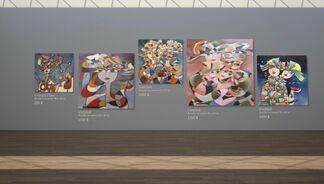 Banat Asrari, installation view