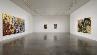Gajin Fujita: Warriors, Ghosts and Ancient Gods of the Pacific, installation view
