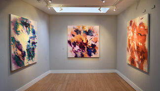 Rebecca Meanley - The inexplicable moments of painting, installation view
